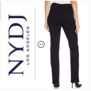 NYDJ Black Straight Jeans NWT! Size 2